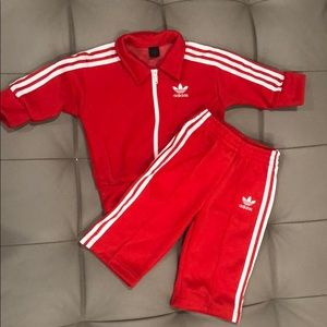 Baby Adidas track suit! Brand new, size 9 months.